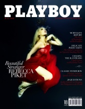 Rebecca Piket - Playboy July 2010 Cover