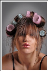 James Apple - Angel Leigh in rollers