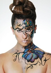 Cotillon Photography - Fashion Body Face Painting Art
