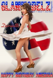 DrDavesGraphics - 4th of July 2009 Cover Art for GlamModel