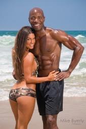 Lauren Abraham - Fitness Couples Magazine Cover