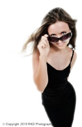 RKD Photography - Tiffany and The Little Black Dress