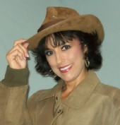 Lindy Binford - Leather Hat with Leather Jacket