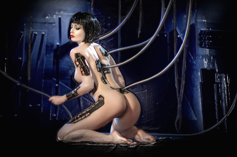 Jay Allan  - Justine Jolli Cyborg