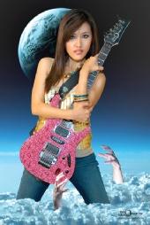 Brad Meador Design - Kimmy Guitar Goddess.