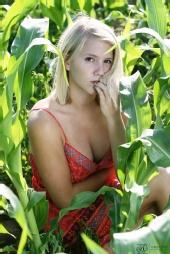 Todd L Church Photography - Jenna in the corn