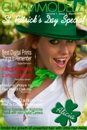 GlamModelz Magazine - Alicia - St Patty's Day Special