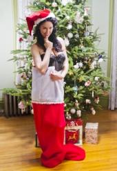 Melissa Mazza - Christmas Pinup
