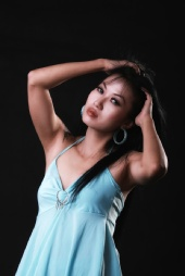 maria fransisca - indonesian model