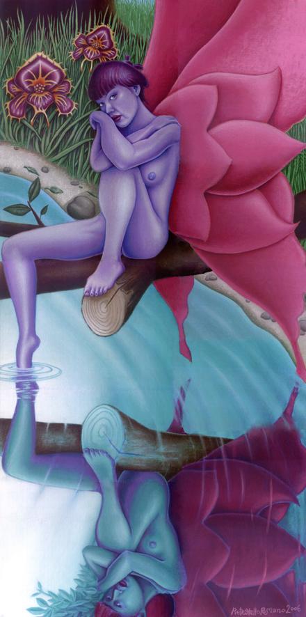 Pietro Otello Romano - reflection of love illusion of life