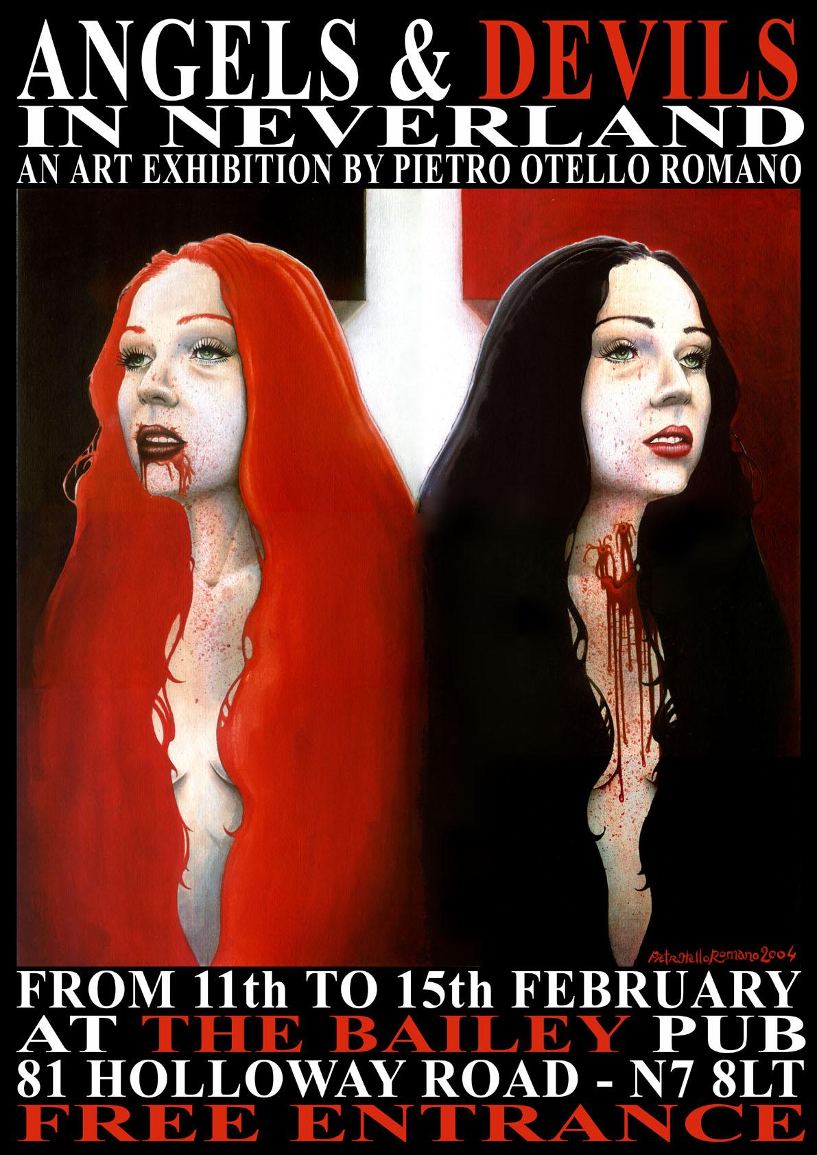 Pietro Otello Romano - Exhibition poster