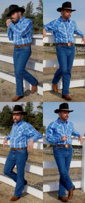 Jack Long - Marlboro Man imitator