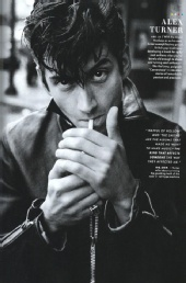 erin gallagher - alex turner for GQ Magazine