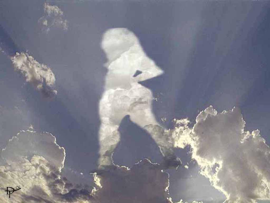 Dante - sky figure photosop'd