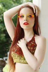 JadeVamp1986 - Extreme Makeup Shoot (July 29,2010)