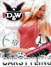 Eva - Cover of European Tuning catalogue D&W 2009