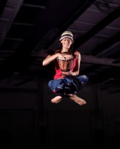 Angelfly - Chillin in the air with my Djembe