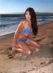 Elvina - Blue Bikini