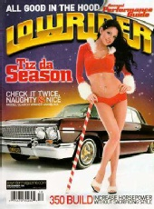 Angelina Zamora - Lowrider Magazine Cover Dec 2006