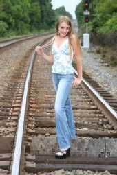 Cowgirl - Rail Road