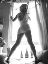 Danielle Mays - window gazing
