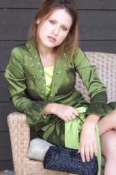 Courtney Kocak - Green Skirtsuit