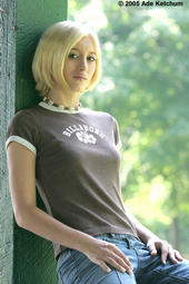 Nevaeh - Me as a Blonde