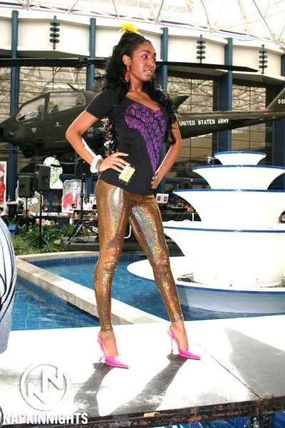 Chardá Bell - THREAD San Diego fashion show 2007