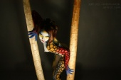 Modelle - Body Paint Girl - Femalien