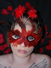 Sam - Masked Woman in Red
