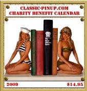 Erika - 2009 Classic pin-up calendar cover