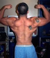 Carlo - back double biceps