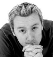 Chris - Black and White Headshot