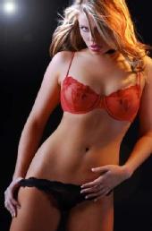 Nina Marie - orange and black