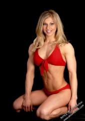 Gail Sanez - Red Kneeling