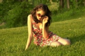 Ekaterina - in the park once again