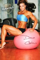 Diana Chaloux - Diana Chaloux Pro Fitness Model