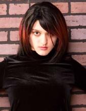 Zarma - black velvet dress