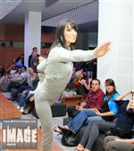 Vanessa Krell - Yoga on the runway