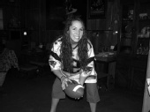 Alexandra Herren - Football jersey fun