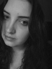 Laura Paul - Black and white sad
