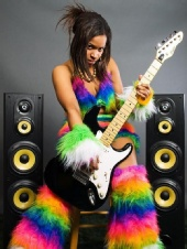 GoldieGodiva - Glamour Goldie Godiva the Rockstar