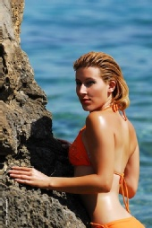 charis malik - beach