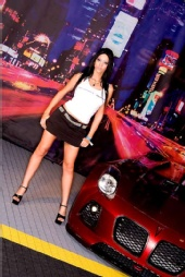 Misty Moreau - GM Tuner Source @ Hot Import Nights Orlando 2008