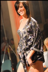 nickid - me on catwalk in diesal nitewear