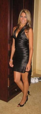 Samantha Petito - BCBG Dress