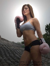 Jessica Lauren - Kickboxing