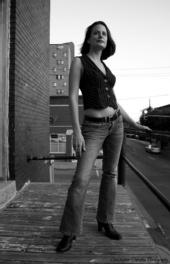 Veronica Zeiler - B&W Jeans