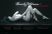 Amanda Lea - Beverly Feldman Shoes Bilboard