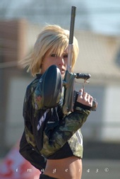 Sarah Arseneau - Dye Paintball